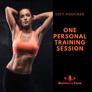 RunMoveTone Personal Training Gift Certificate - 1 session