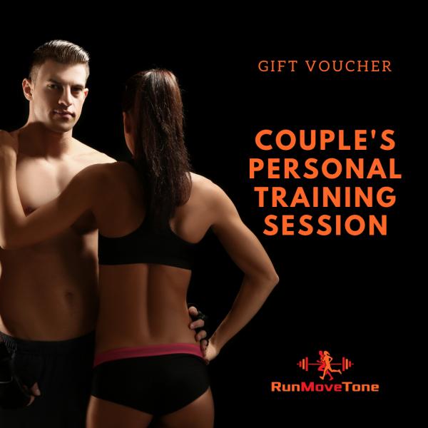RunMoveTone Personal Training Gift Certificate - Couple